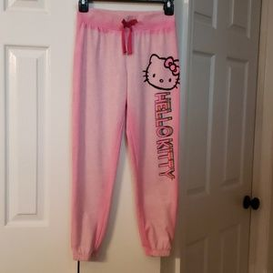 Hello Kitty sweatpants for girls EUC!